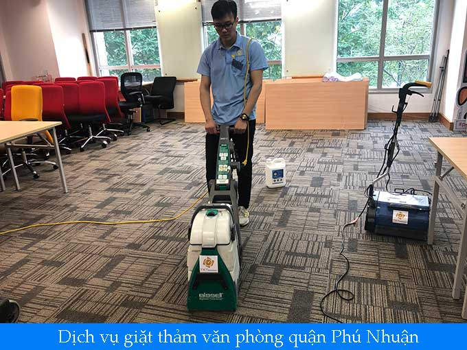 giặt thảm văn phòng quận Phú Nhuận