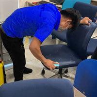 tẩy điểm ghế