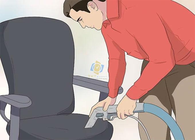 Hút bụi trên ghế